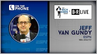 ESPN's Jeff Van Gundy Talks NBA Finals with Rich Eisen | Full Interview | 6/10/19