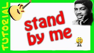 Como tocar STAND BY ME en Guitarra acustica