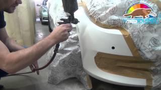 Реставрация бамперов своими руками 5