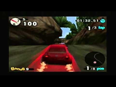 Beetle Adventure Racing (N64) - Novice Cup Courses