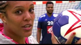 Lucie Décosse débute le Hand avec Cédric Sorhaindo [2016-01-28]