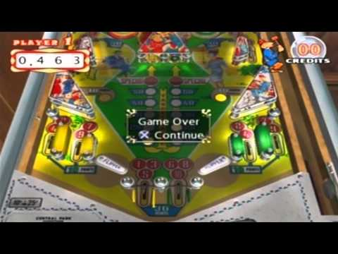 PINBALL HALL OF FAME : THE GOTTLIEB COLLECTION Gameplay for the PLAYSTATION 2
