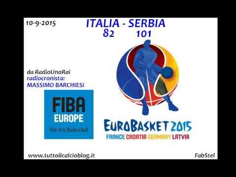 EuroBasket 2015 alla radio: Italia-Serbia 82-101