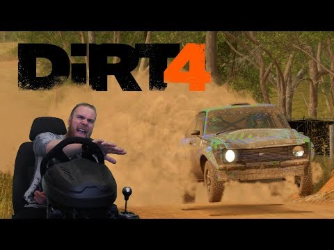 Dirt 4 - T300 Alcantara Edition - прохождение историческое ралли