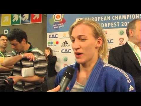 Interview Eva Csernoviczki (HUN) -48kg ECh Budapest 2013