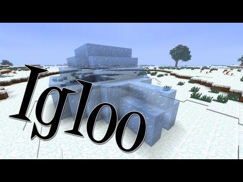 Tutoriais Minecraft: Como Construir um Igloo