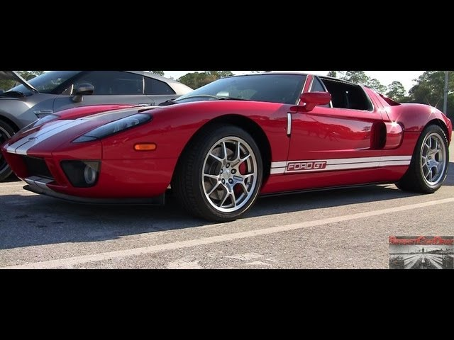 Heffner Ford GT vs 997 Turbo Porsche - Street Car Drags - Drag Race Video
