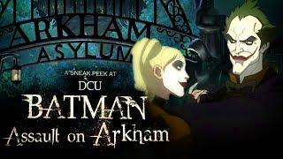 Batman: Assault on Arkham Sneak Peek