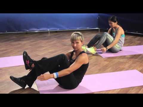 КАЧАЕМ ПРЕСС И СПИНУ | Силовая тренировка с Реутовой Натальей!