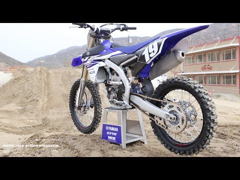 First Ride 2015 Yamaha Yz250f Motocross Action Magazine video