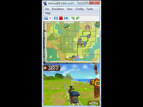 The Legend of Zelda: Spirit Tracks on DeSmuME 0.9.6 - Nintendo DS Emulator