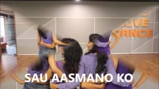 SAU AASMAAN # BAAR BAAR DEKHO# CHOREOGRAPHY# KATRINA KAIF# RITU'S DANCE STUDIO# SURAT.
