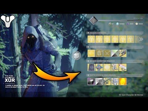 Destiny 2 - How XUR Should Of Been !!