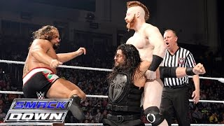 Roman Reigns vs. The League of Nations: SmackDown, Jan. 21, 2016