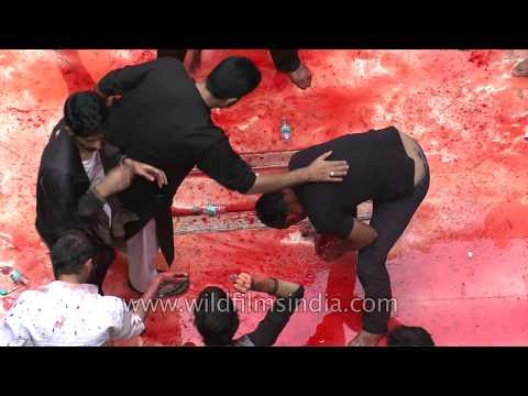 Bloodshed at Panja Sharif Karbala- Muharram