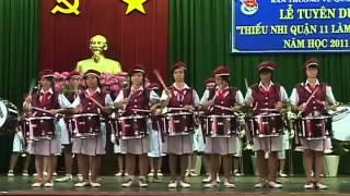 Nguyễn Văn Phú Biểu diễn trống kèn