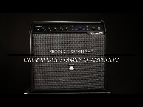 Line 6 Spider V Guitar Amplifliers