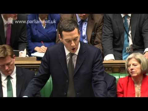 Chancellor delivers 2015 Budget Statement - Wednesday 18 March 2015