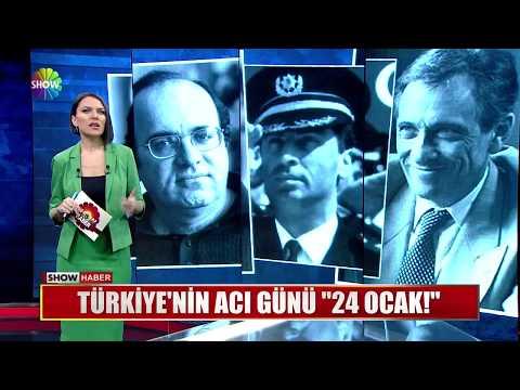 """Türkiye'nin acı günü """"24 Ocak!"""""""