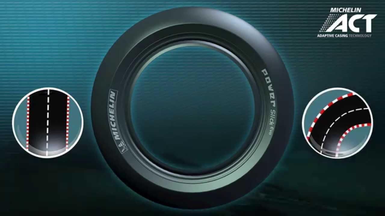 Michelin pneu moto 2015 evo avec la nouvelle act for Salon nouvelle technologie