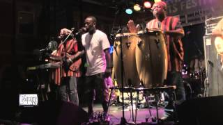 "Sierra Leone's Refugee All Stars Video - Sierra Leone's Refugee All Stars Live at MAAF2014 -  ""Treat You Right"""