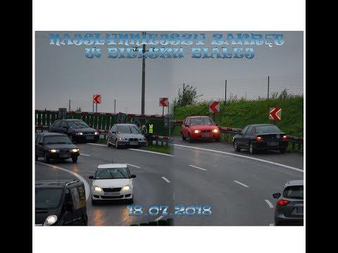 Dwa Wypadki Na Zakręcie Idiotów W Bielsku-Białej - Dojazd Służb I Akcja