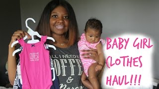 Baby Clothes Haul 2016 | Carter's