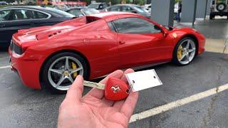 Buying Ferrari 458??? Trading ZR1 Corvette???