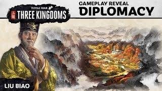 Total War: THREE KINGDOMS – Diplomacy Gameplay Reveal (Part 1)