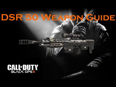 Call of Duty Black Ops 2 Weapon Guide: DSR 50 Sniper Rifle (Best Class Setup and Game Strategies)