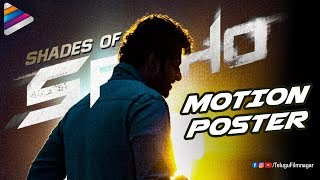 Shades of Saaho Announcement Motion Poster | Prabhas | Shraddha Kapoor | Happy Birthday Prabhas