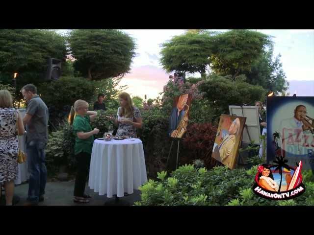 Capische Restaurant - Maui Jazz & Blues Festival 2012 Kickoff Party