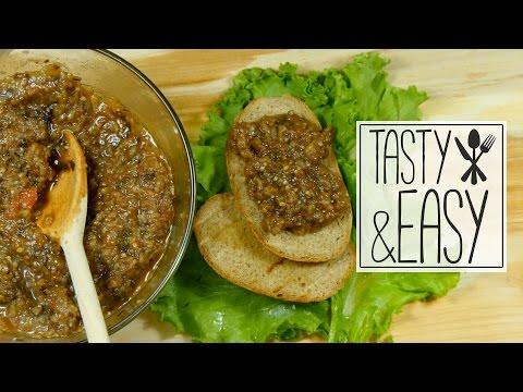 РЕЦЕПТ ВКУСНОЙ ИКРЫ ИЗ БАКЛАЖАНОВ. Tasty&Easy.