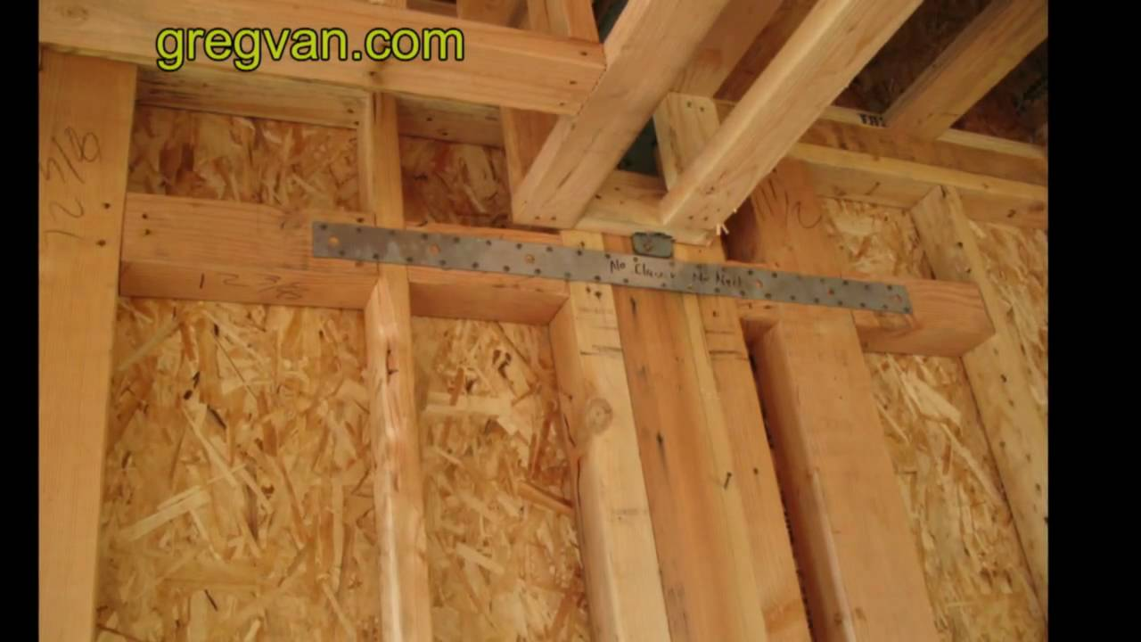 Top Plate Strap Tips For Home Framing Structural Wall