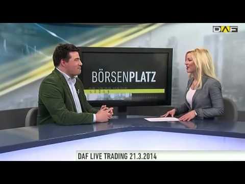 DAF Live Trading - Der Day-Trader Philipp Schröder im Interview