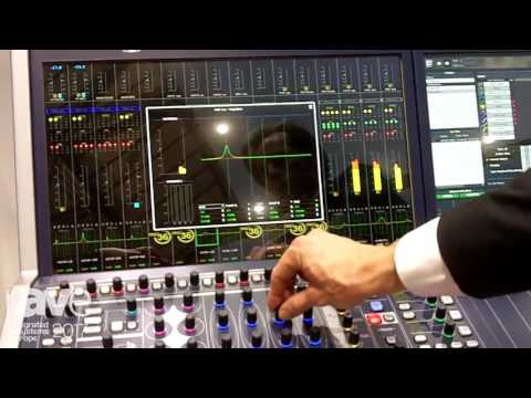 ISE 2017: LAWO Demos mc2 36 All-In-One Production Console