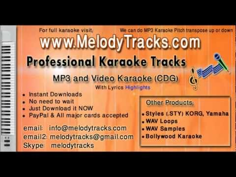 Aaj ei dintake moner khatai likhe - Bangla KarAoke - www.MelodyTracks...