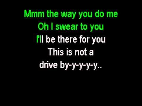 Train - Drive By (karaoke instrumental) No Main Vocals video