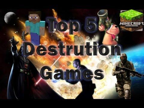 TOP 5  - Destruição em Games