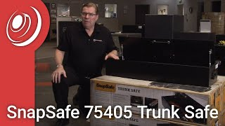 SnapSafe 75405 Trunk Safe with Dye the Safe Guy