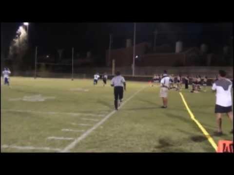 2012 Emery/Weiner Jaguars vs Bryan Allen Academy Rams