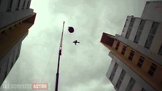 Casanovva - Mohanlal's Breathtaking Action Sequence in Casanovva - Building to building jump without dupe