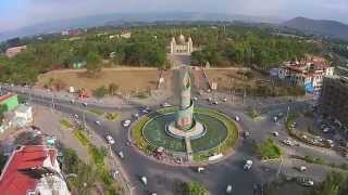 Hawassa from the sky.  mesfin video