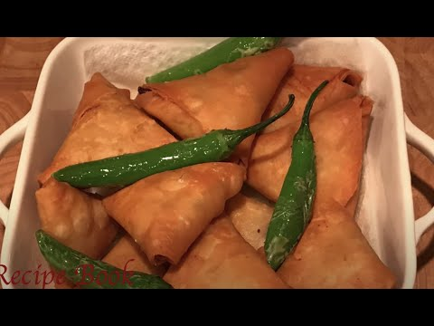 StreetStyle Onion Samosa Recipe | How To Make Irani Samosa | Best way to fold Samosa | Ulli Samosa