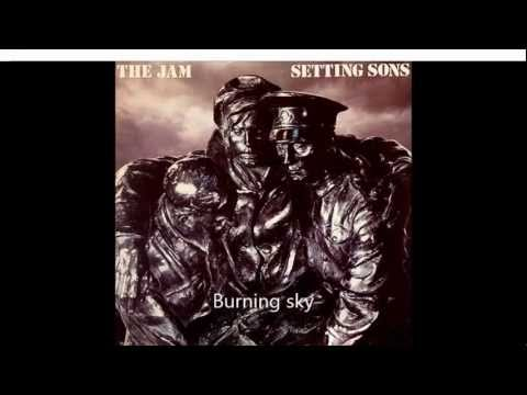 The Jam - Setting sons - Burning sky