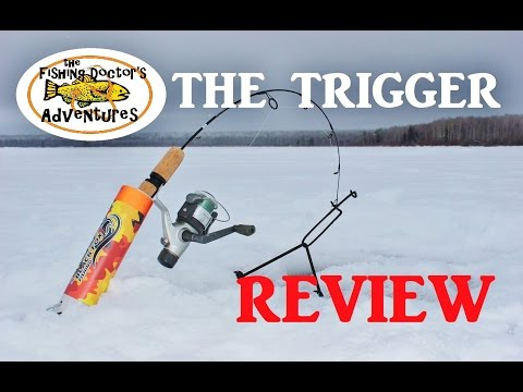 How to Ice Fishing and Review: The Trigger by Black Fox Fishing