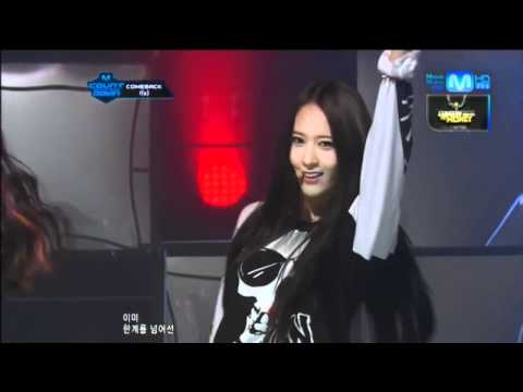 f(x)_Intro+Electric Shock @Mcountdown 2012.06.14 Music Videos