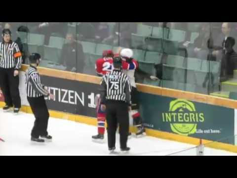 Hudson Elynuik vs Kody McDonald Feb 13, 2017