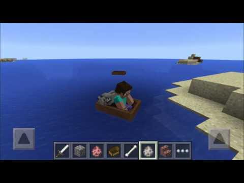 Minecraft PE 0.11.0 BOTES PARA 2 ENTIDADES :3