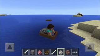 Minecraft PE 0.11.0 - BOTES PARA 2 ENTIDADES :3